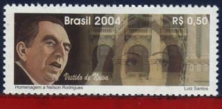 2943 Brazil 2004 - Nelson Rodrigues,  Playwright,  Music,  Famous People,  Sc 2943 photo