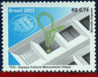 2902 Brazil 2003 Cultural Space,  Tcu,  Marcantonio Vilaca,  Architecture,  Mi 3334 photo