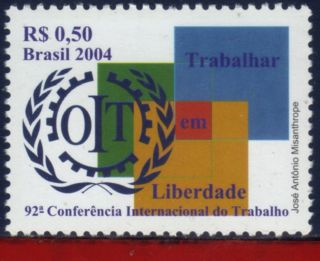 2925 Brazil 2004 - Labour Conference,  Freedom - photo