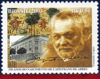 2908 Brazil 2003 Caprisciano De Abreu,  150th Anniv. ,  Authors,  Sc 2908,  Mi 3342 photo