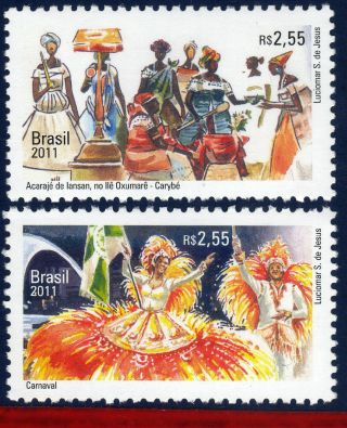 11 - 40 Brazil 2011 Join Issues With Belgium,  Folklore,  Europalia,  Dance, photo