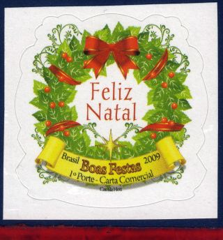 9 - 14 Brazil 2009 Christmas,  Religion,  Garland, photo