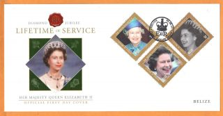 Belize - Fdc - Queen Elizabeth