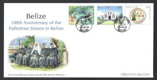 Belize - Fdc - Pallottine Sister photo