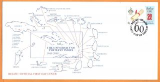 Belize - Fdc University Of The West Indies photo