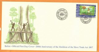 Belize - Fdc Abolition Of The Slave Trade photo