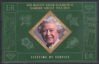 Belize - - Queen Elizabeth ' S Life Time Of Service - Souvenir Sheet photo