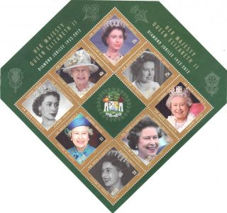 Belize - - Queen Elizabeth ' S Life Time Of Service photo