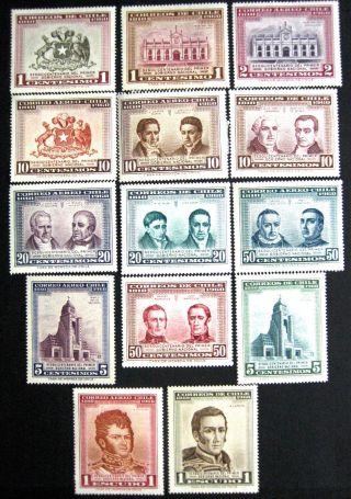Chile:1969 - 65 Sesquicentenario Primer Gobierno Nacional Mng/ Mlh/og photo
