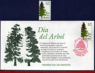 2083fd Mexico 1998 - Arbor Day,  Tree,  Flowers & Plants,  Mi 2703 photo