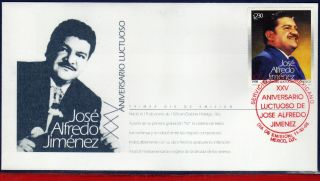 2103fd Mexico 1998 - Jose Alfredo Jimenez,  Composer,  Famous People,  Mi 2751, photo