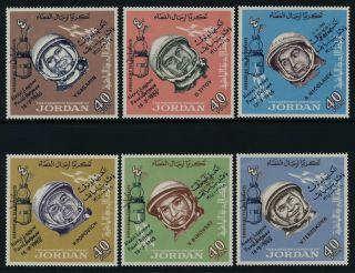 Jordan 527 - 7e Mh Space Capsule,  Cosmonauts,  O/p photo