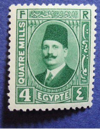1927 Egypt 4m Scott 132a Michel 123a Cs07128 photo