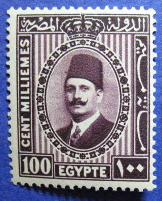 1930 Egypt 100m Scott 146 Michel 134b Cs07174 photo