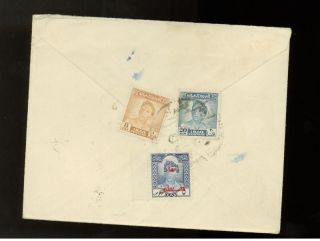 1950s Iraq Airmail Cover To Usa photo
