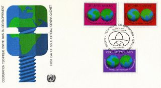 United Nations 1978 Technical Development First Day Cover York Shs photo