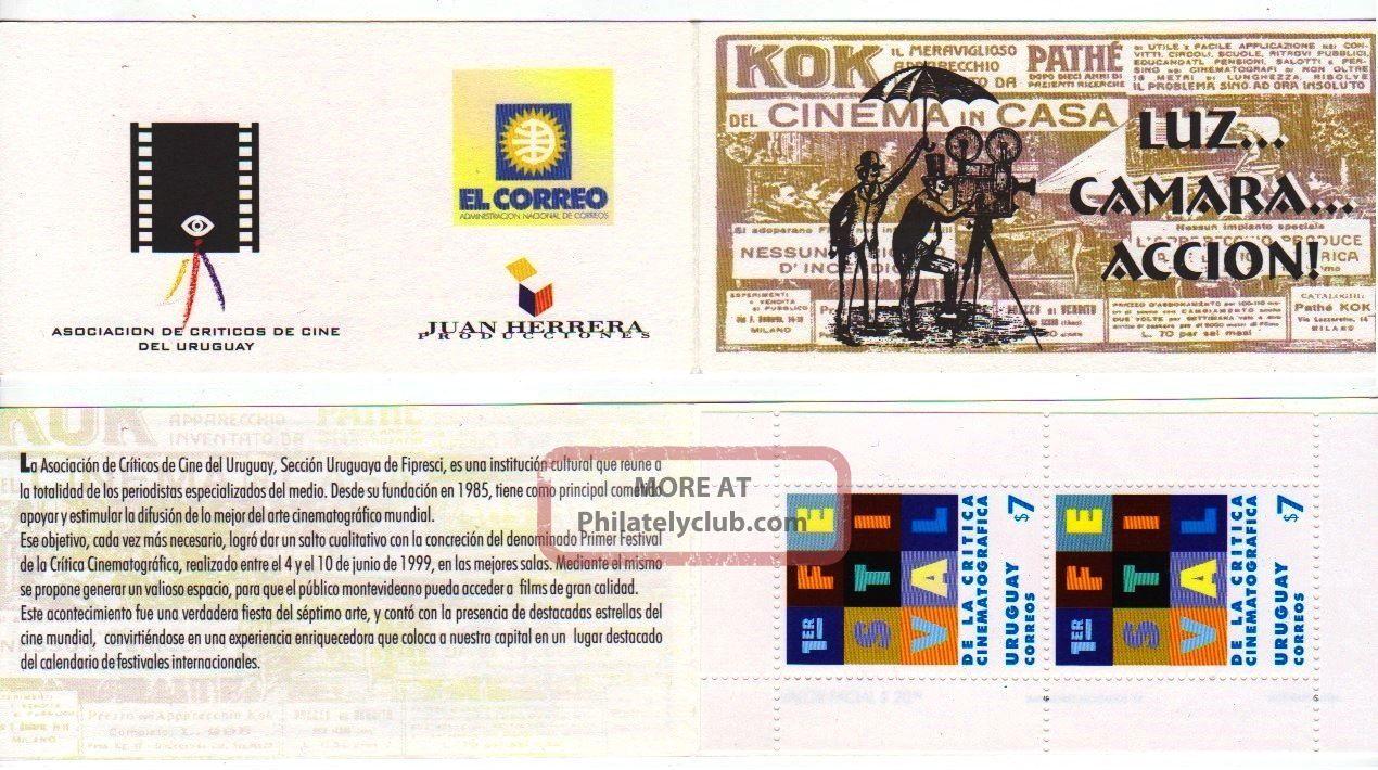 Uruguay: Mi 2458 Cinema Critic Festival (1999) Booklet Latin America photo
