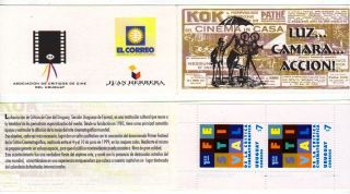 Uruguay: Mi 2458 Cinema Critic Festival (1999) Booklet photo