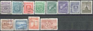 Philippines,  1947,  504 - 506,  508 - 510; 1949,  535; 1951,  557,  559,  560,  563,  566, photo