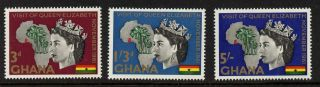Ghana 107 - 9 Queen Elizabeth Ii,  Map photo
