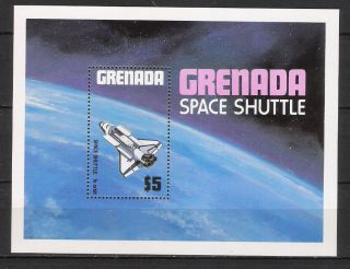 Grenada 1981 Space/shuttle/transport/science/ S/s Mi Bl 99 Vf photo
