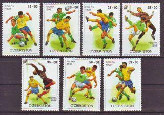 Uzbekistan - 1999.  Soccer - (2070) photo