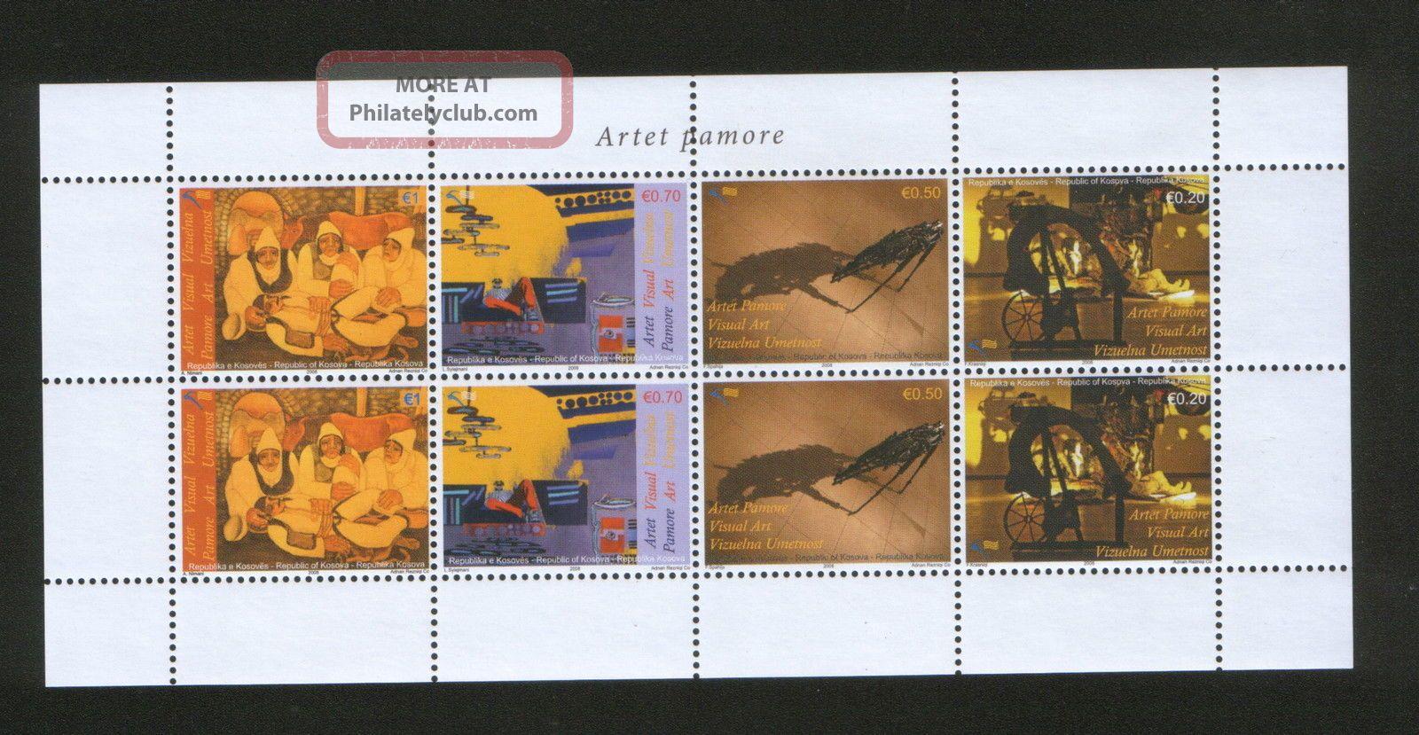 Kosovo - S/s - Art - - 2008. Topical Stamps photo