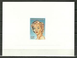 Sc 1178b Marilyn Monroe American Actress And Singer - Embossed Proof Epreuve photo