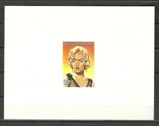 Sc 1178d Marilyn Monroe American Actress And Singer - Embossed Proof Epreuve photo