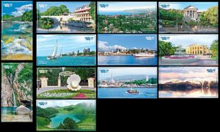 2013.  Russia.  Xxii Winter Olympic Games.  Sochi - 2014.  Tourism.  12 Postcards photo