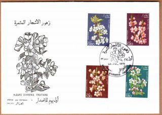 Algeria 1978 - Flowering Trees