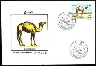 Algeria 2004 - Dromedary,  Scott 1307 - Fdc With Topical Cancel photo
