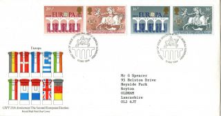 15 May 1984 Europa Royal Mail First Day Cover Bureau Shs photo