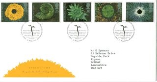 14 March 1995 Springtime Royal Mail First Day Cover Bureau Shs photo