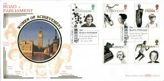 6 August 1996 Women Of Achievement Benham Blcs 119 First Day Cover Parliament photo