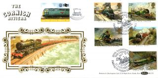 22 January 1985 Famous Trains Benham Bls 1 Le First Day Cover Cornish Riviera photo
