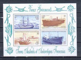 Taaf Ships And Boats Block photo