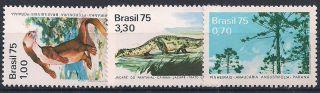 Brazil 1975 Wildlife Mlh - Vf 1488 - 90 photo