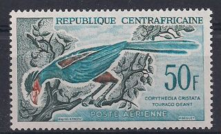 Centrafrica - 1962 Birds Mlh - Vf 31 photo