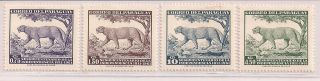 Paraguay - 1961 Wildlife Mlh - Vf 912 - 5 photo