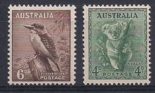Australia - 1956 Wild Animal Mlh - Vf 263 - 4 photo