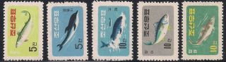 Corea - 1961 Fishes - Vf 293 - 97 photo
