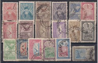 Argentina - 1928 Birds - - Vf 313 - 31 (- 318) photo