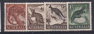 Australia - 1959 Wild Animal Mlh - Vf 294 - 7 photo