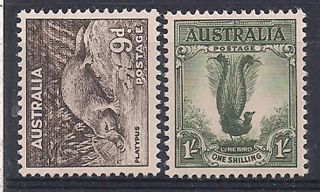 Australia - 1956 Wild Animal Mlh - Vf 270 - 1 photo
