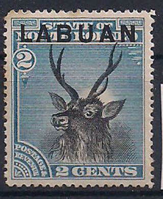 Labuan - 1894 Wild Animal Mlh - Vf 48 photo