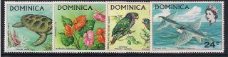 Dominica 1970 Wildlife Mlh - Vf 296 - 8 photo