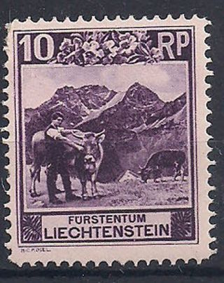 Liechtenstein - 1930 Wild Animal Mlh - Vf 96 photo