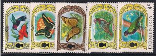Dominica 1969 Wildlife Mlh - Vf 268+270 - 3 photo