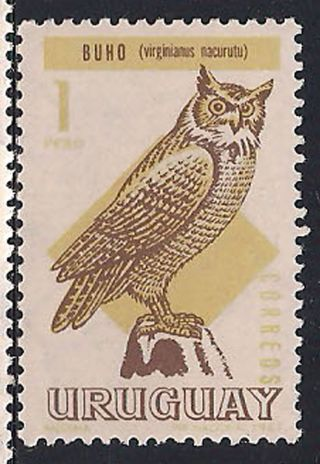 Uruguay - 1968 Birds Mlh - Vf 1113 photo
